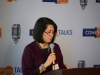 irene-bermudez-introduces-dr-norman-weston-at-concept-talks-on-march-3-2014